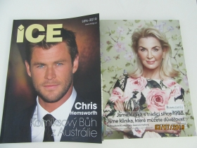 Reklama v Ice magazínu